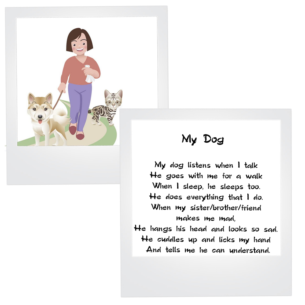 Текст на английском языке про собаку 5 класс